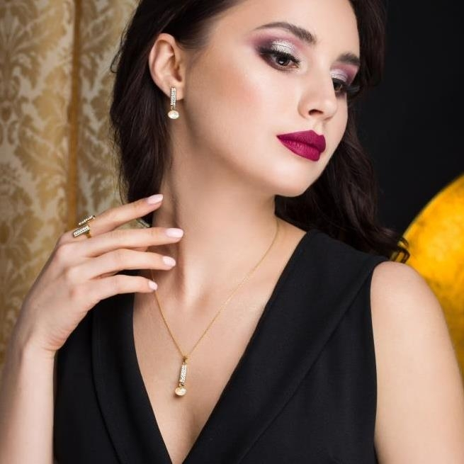 Gold-plated jewelry sets