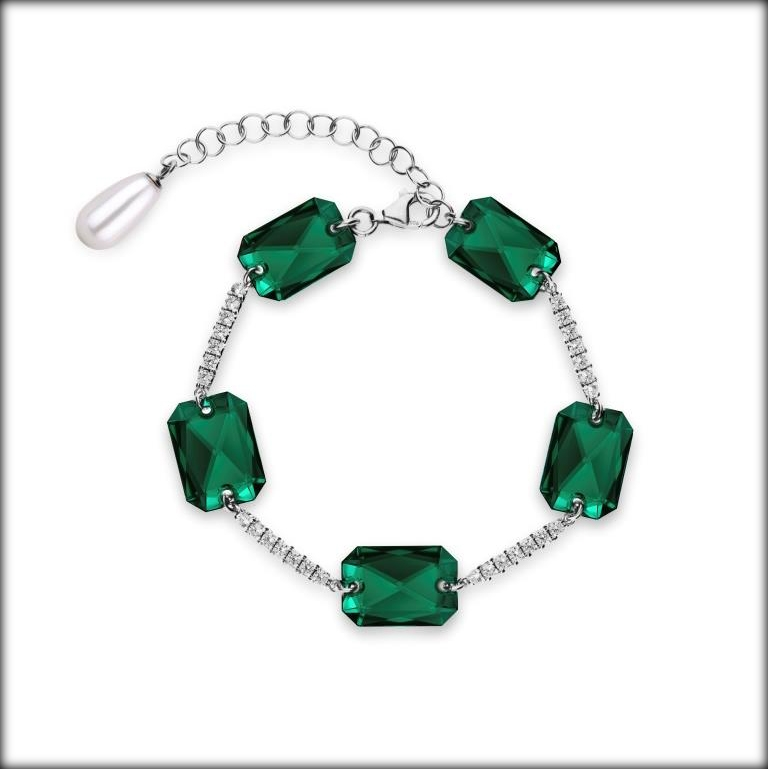 Jewelry collection Emerald Elegance - Spark