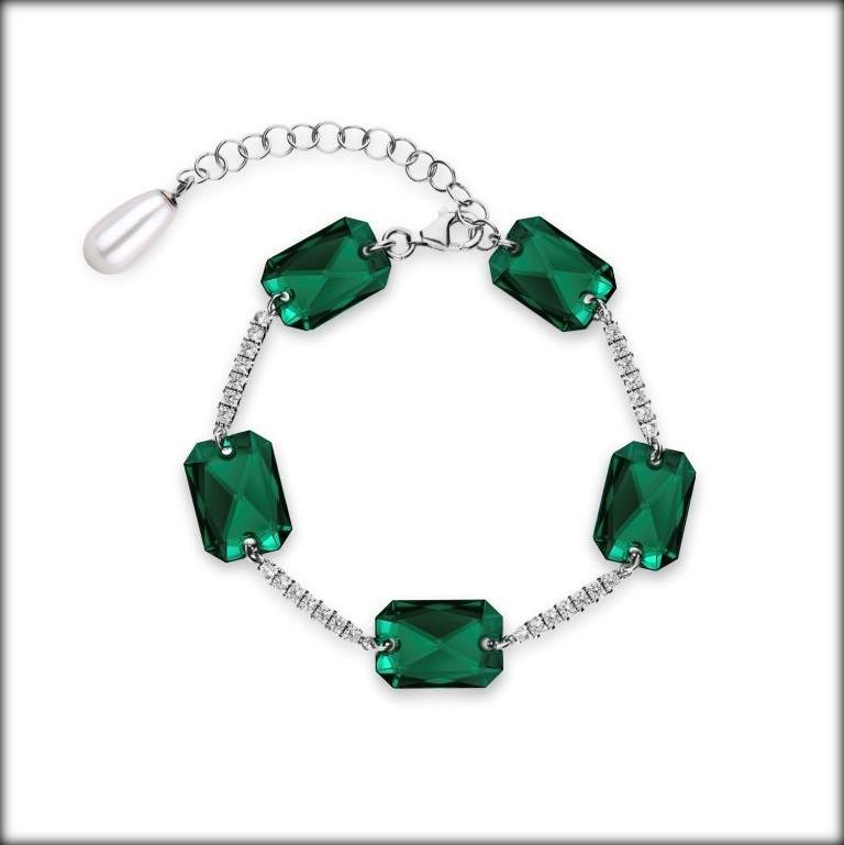 Kolekcja biżuterii Emerald Elegance - Spark